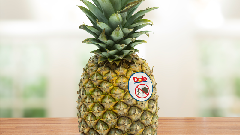 Illustration for article titled Big Win For Safety: Dole Will Start Putting Warnings On Its Pineapples To Discourage Customers From Running Back Into Burning Buildings To Save Them