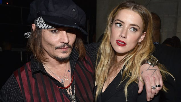 Amber Heard Files for Divorce From Johnny Depp 3 Days After His Mother Dies