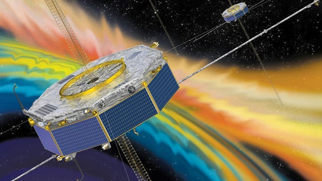 Spacecraft Witness Explosion in Earth s Magnetic Field