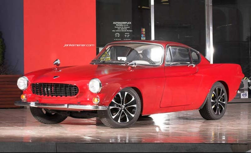 Illustration for article titled Nice Price Or Crack Pipe: The $69,900 Volvo P1800S?