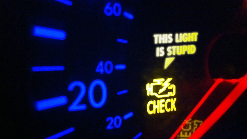 Illustration for article titled Why The 'Check Engine' Light Must Be Banned