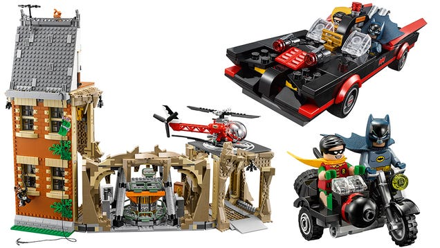 osw.zone Holy Bricks! I Love Everything About Lego's New Classic Batman TV Series Batcave Set
