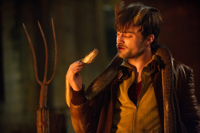Illustration for article titled Daniel Radcliffe Looks Like Hell In These New Horns Stills