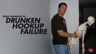 Drunken hookup failure