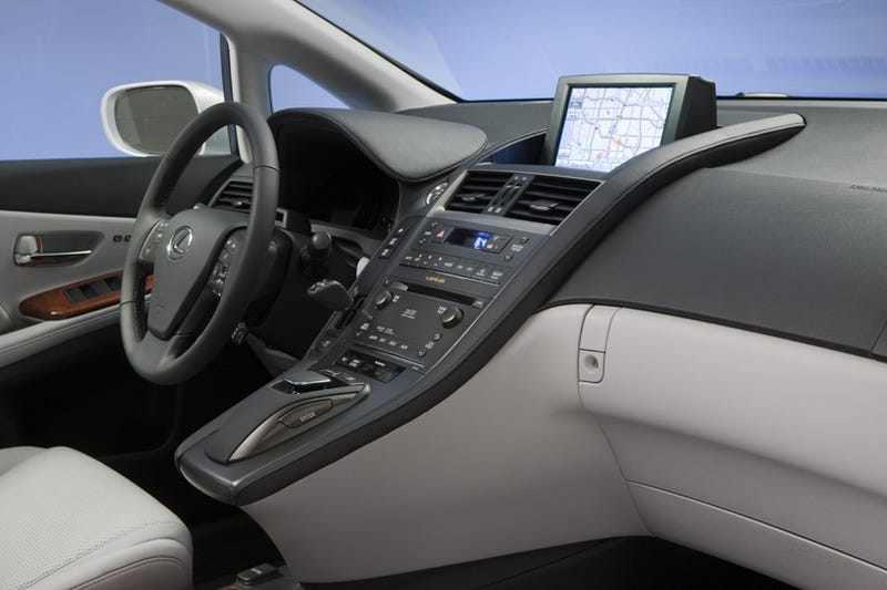 """Illustration for article titled Lexus Reveals """"Remote Touch"""" Mouse-Based, Point-And-Click Infotainment System"""