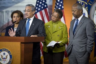 CBC members hold press conference. (Getty Images)
