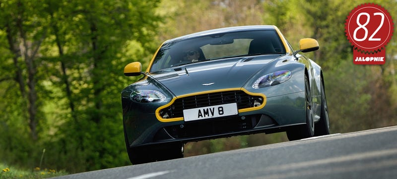 Aston Martin V Vantage GT The Jalopnik Review - Aston martin gt