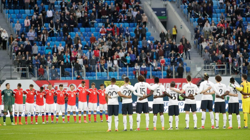 Russian Soccer Fans Reportedly Chanted Monkey Noises At
