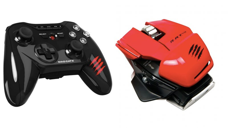 Illustration for article titled These New Mad Catz Controllers Work With (Almost) Any Gaming Device