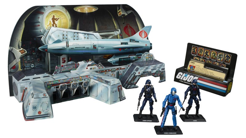 Illustration for article titled One of the Oldest and Rarest G.I. Joe Playsets Is Returning as a San Diego Comic-Con Exclusive