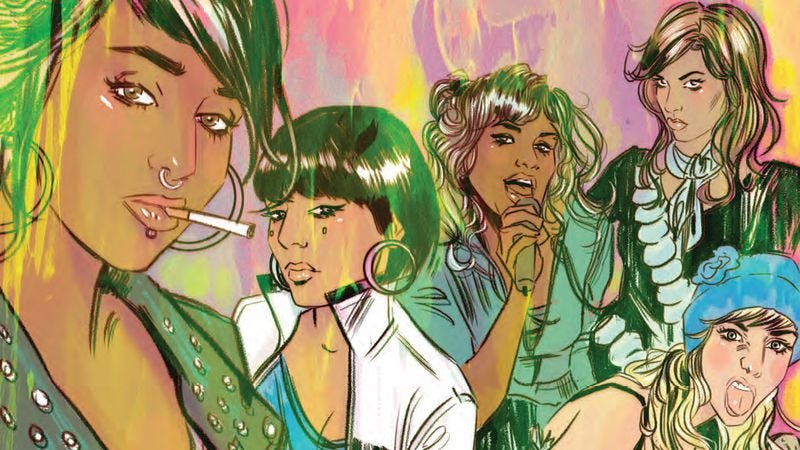 Illustration for article titled Exclusive BOOM! preview: Curb Stomp #1 brings the pain with a badass girl gang