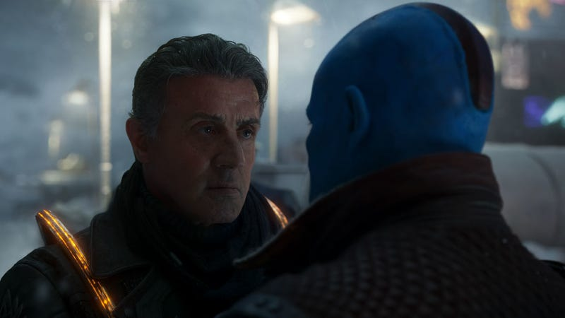 Sylvester Stallone in Guardians of the Galaxy Vol. 2. Image: Disney