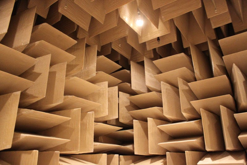 Microsoft\'s Anechoic Chamber: The Place Where Sound Goes To Die