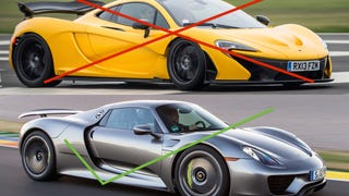 Its official,  I like the 918 more than the P1.