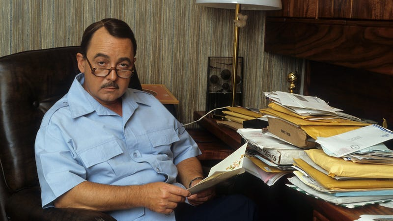 Hillerman in 1982. (Photo: Donaldson Collection/Michael Ochs Archives/Getty Images)