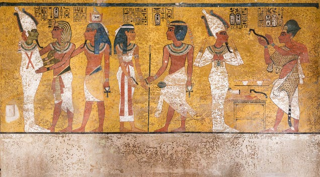 See Inside the Newly Renovated King Tut s Tomb