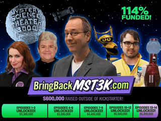 Illustration for article titled That Mystery Science 3000 Theater Kickstarter Just Set A New Record