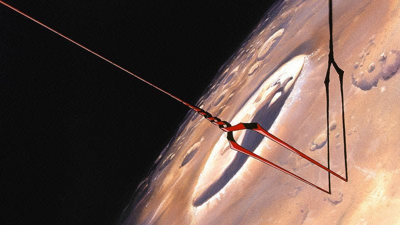Illustration for article titled Get Involved, Internet: Help Evangelion fans launch a spear into the moon, for obvious reasons