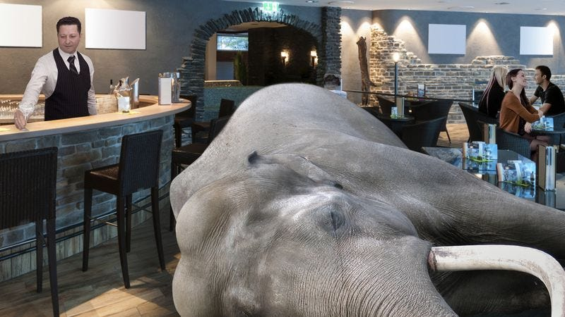 Illustration for article titled Say Hello To The Hip L.A. Restaurant Where Elephants Are Going To Die