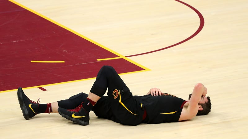 Illustration for article titled Kevin Love Ruled Out For Game 7 With Concussion Symptoms