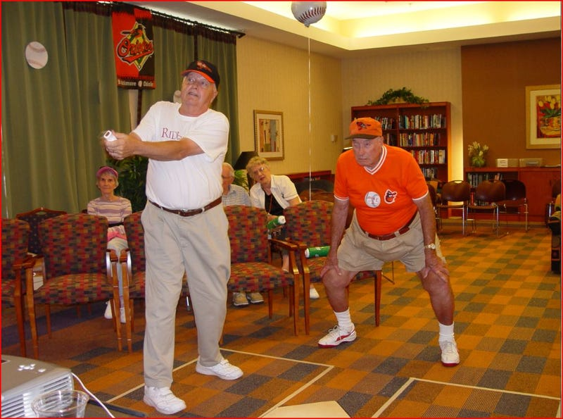 Illustration for article titled Retirement Home Wii Home Run Derby