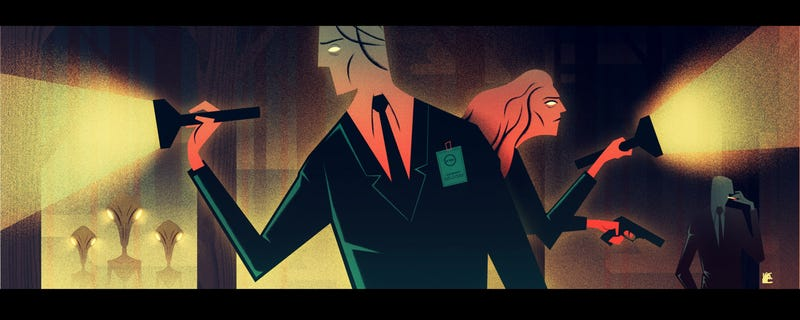 Illustration for article titled The Truth Is in This X-Files-Themed Art Show