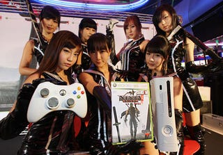 Illustration for article titled Ninja Gaiden II Sexy Photo Event Fun Time
