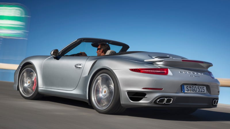 Illustration for article titled 2014 Porsche 911 Turbo Cabriolet: This Is It