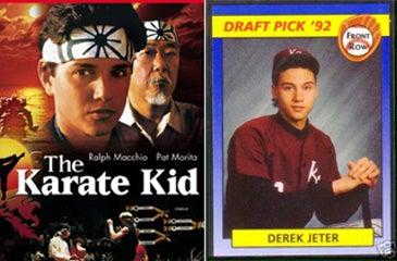 Illustration for article titled Derek Jeter > Daniel LaRusso?
