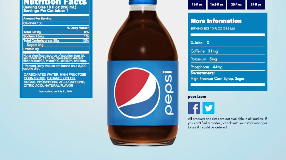 Some Naked Juice Contains More Sugar Than Pepsi
