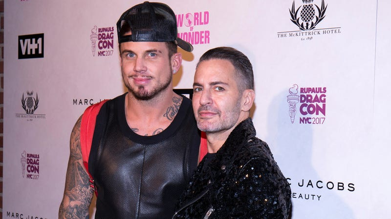 Jacobs (right) and his now-fiancé Charly DeFrancesco in September 2017.