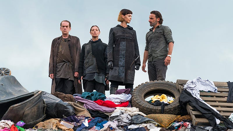 The Walking Dead Added Some Kind of Killer Performance Art Group or Something, I Don't Even Know