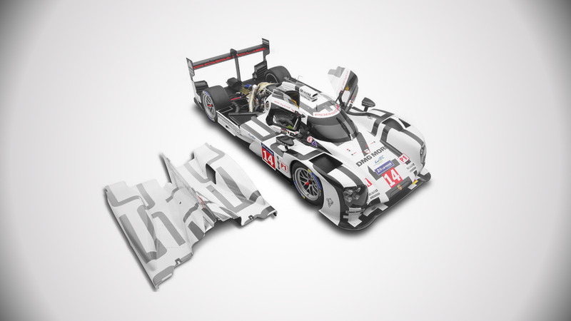 Illustration for article titled Today in 'Model Cars That Cost More Than a Year of College Tuition': The$14,689 Porsche 919 Hybrid
