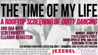 Illustration for article titled Jezebel Event: Watch Dirty Dancing At Our Place
