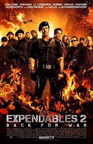 Illustration for article titled Expendables 2 Poster Gallery