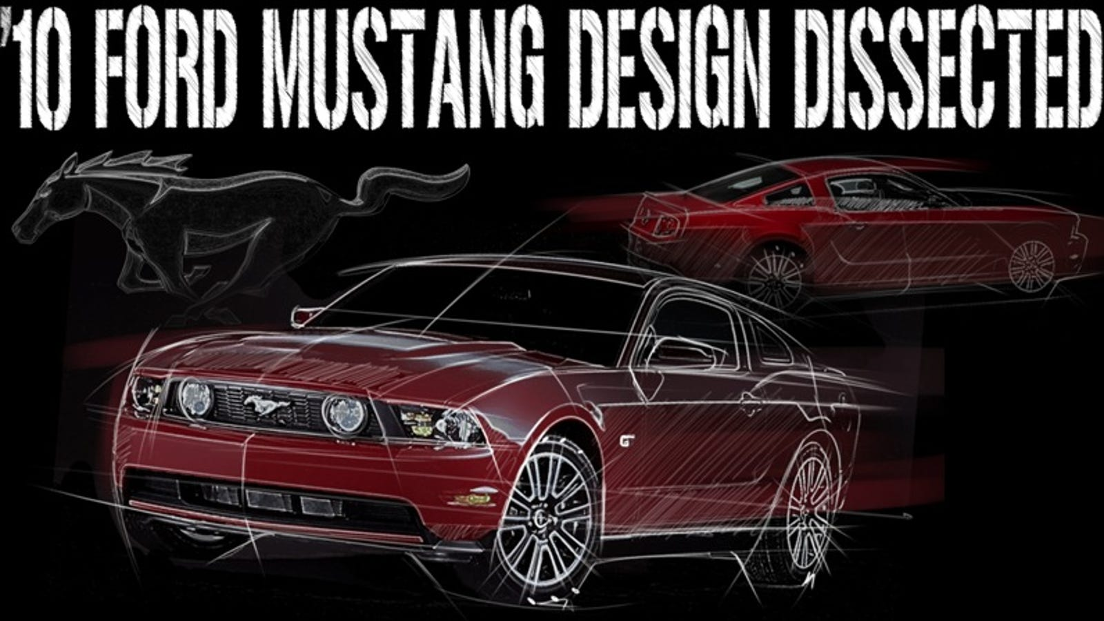 2010 ford mustang design dissected. Black Bedroom Furniture Sets. Home Design Ideas