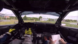Here Is An Actual Child Driving A Rally Car Much Faster Than You