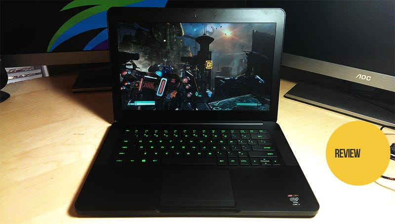 Illustration for article titled The New Razer Blade Ultra-Thin Gaming Laptop: The Kotaku Review