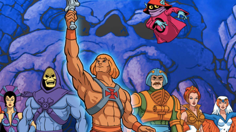 He-Man, some friends, and some enemies.