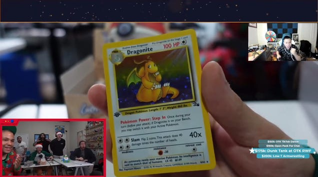 Twitch Streamers Are Opening '90s Pokémon Card Boxes Worth Thousands Of Dollars