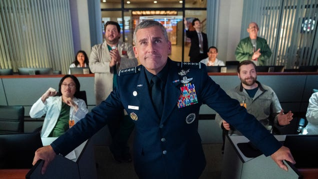 Our First Look at Space Force, That Comedy About the Joke That Is the Real Space Force