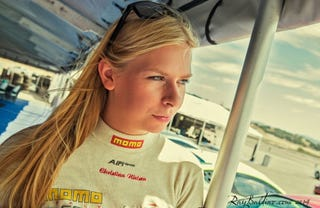 Illustration for article titled Christina Nielsen joins Patrick Long for 2018 IMSA GTD series