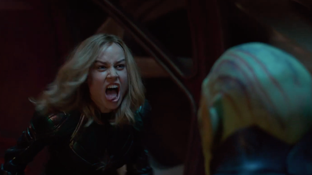Hear Carol Danvers  Primal War Cry in This New Captain Marvel TV Spot