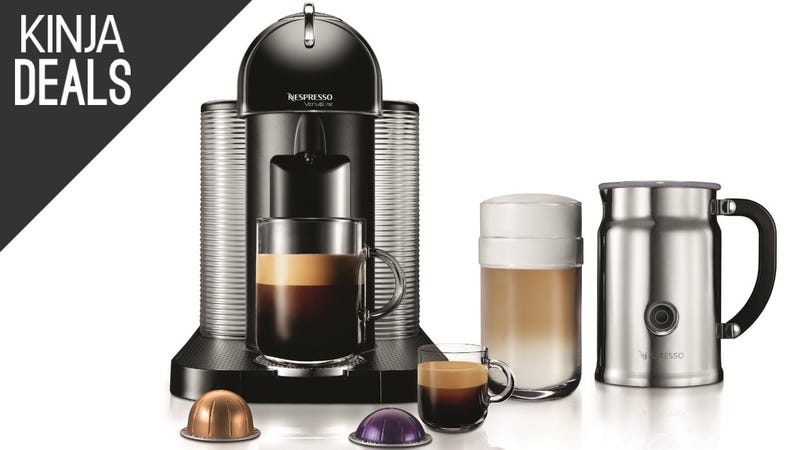 Illustration for article titled This Discounted Nespresso VertuoLine Can Make Regular Coffee Too