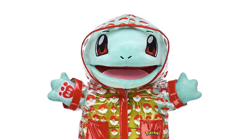 Illustration for article titled Look At Squirtle's Little Raincoat