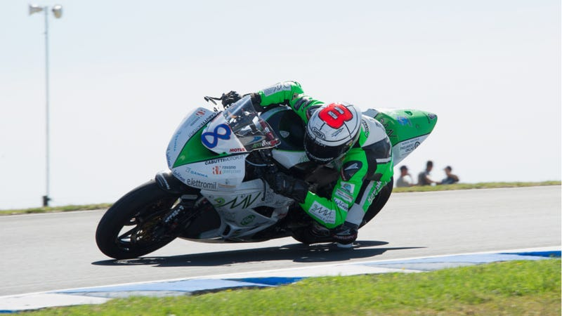 Illustration for article titled World Supersport Rider Andrea Antonelli Killed At Moscow Race