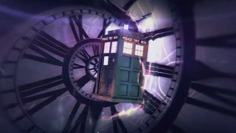 Illustration for article titled The new Doctor Who title sequence was originally designed by a fan