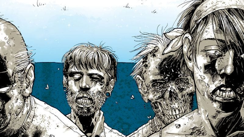 Illustration for article titled Read The Walking Dead along with The A.V. Club: issues #7-12