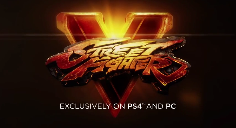 Illustration for article titled Street Fighter V Is a PS4 and PC Exclusive, It Seems