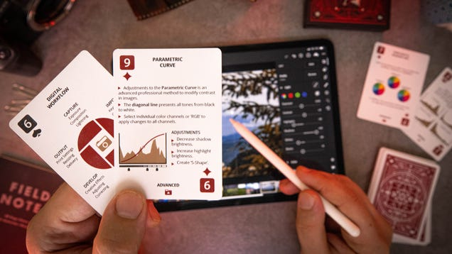 Photo-Editing Playing Cards Turn Poker Night Into a Crash Course in Photoshop